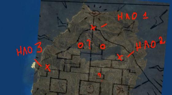 поиск пришельцев на карте GTA 5