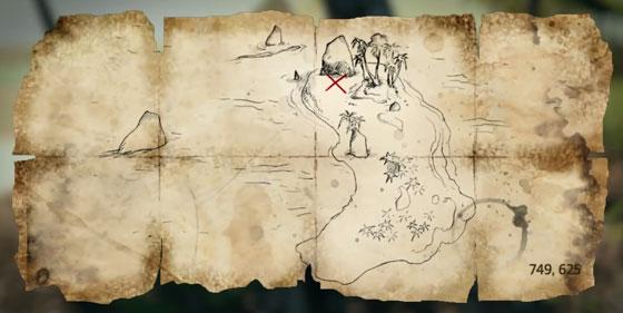Карты сокровищ и зарытые сундуки в Assassin's Creed 4 Black Flag