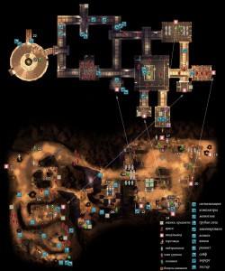 Карта Храм Титана