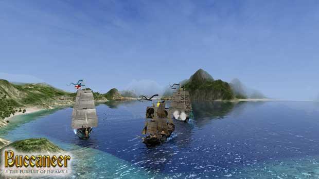 аркада про пиратов на PC компьютер