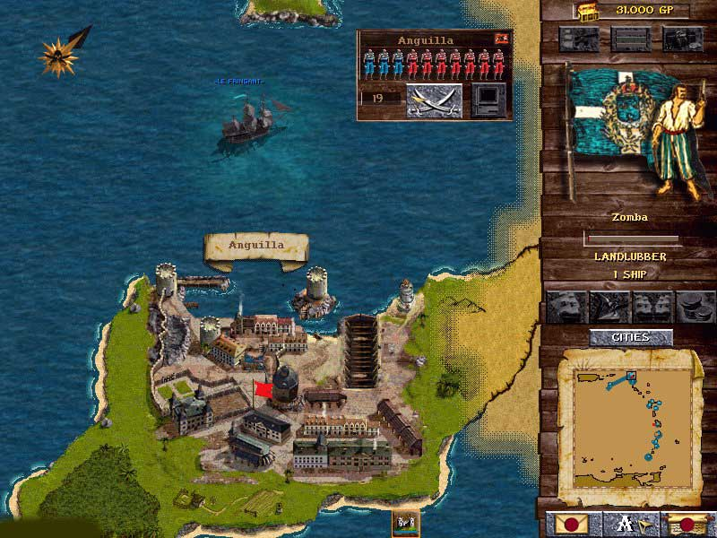 Старые игры про пиратов на пк