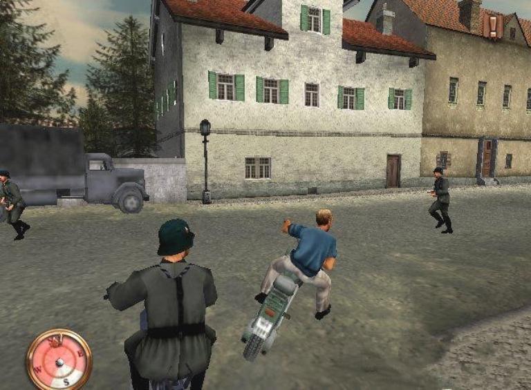 Компьютерная игра побег