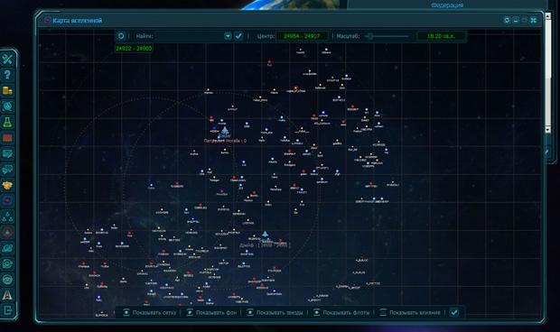 Карта вселенной