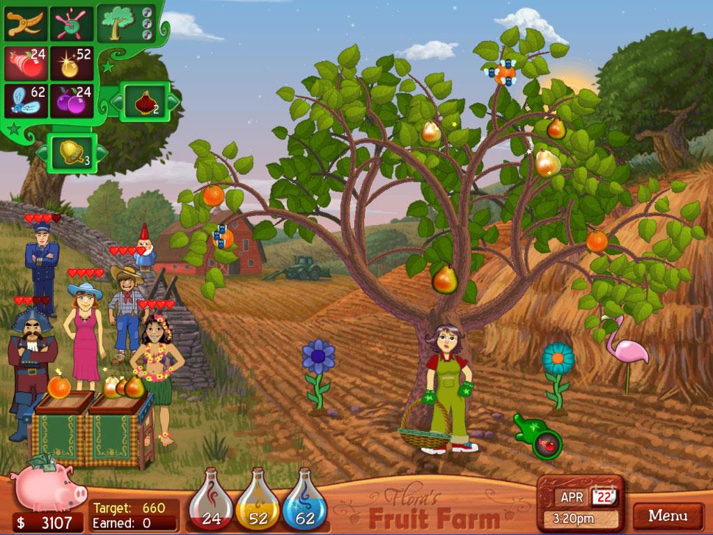 Игра веселая ферма на ранчо