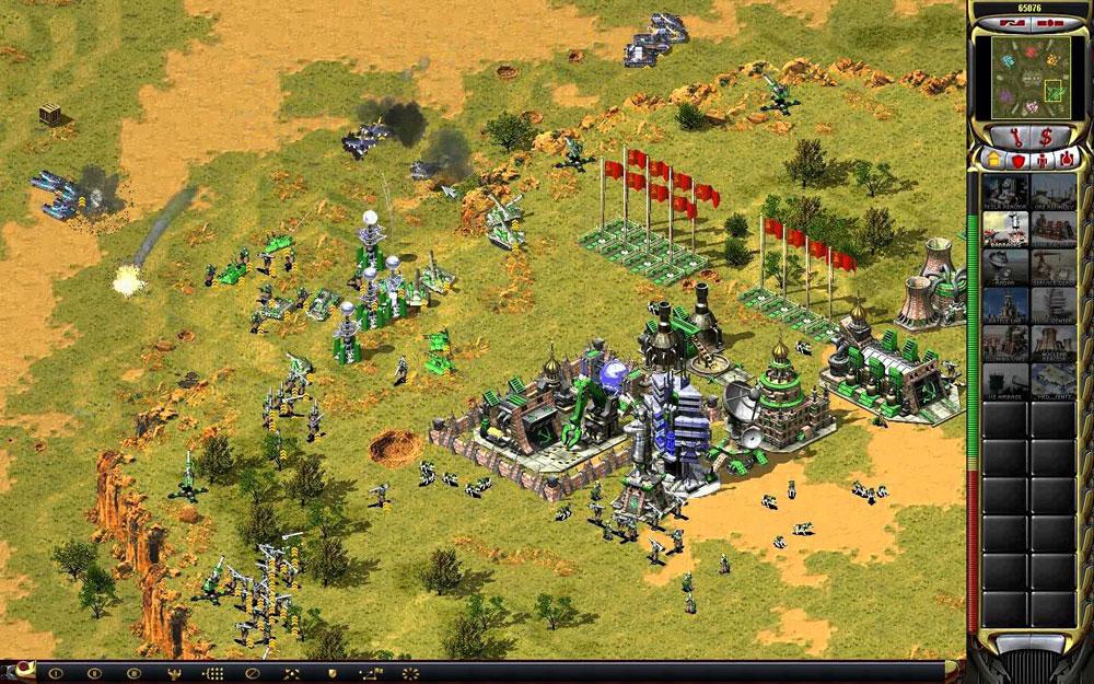 Самая легендарная военная стратегия на пк! Игра command and.
