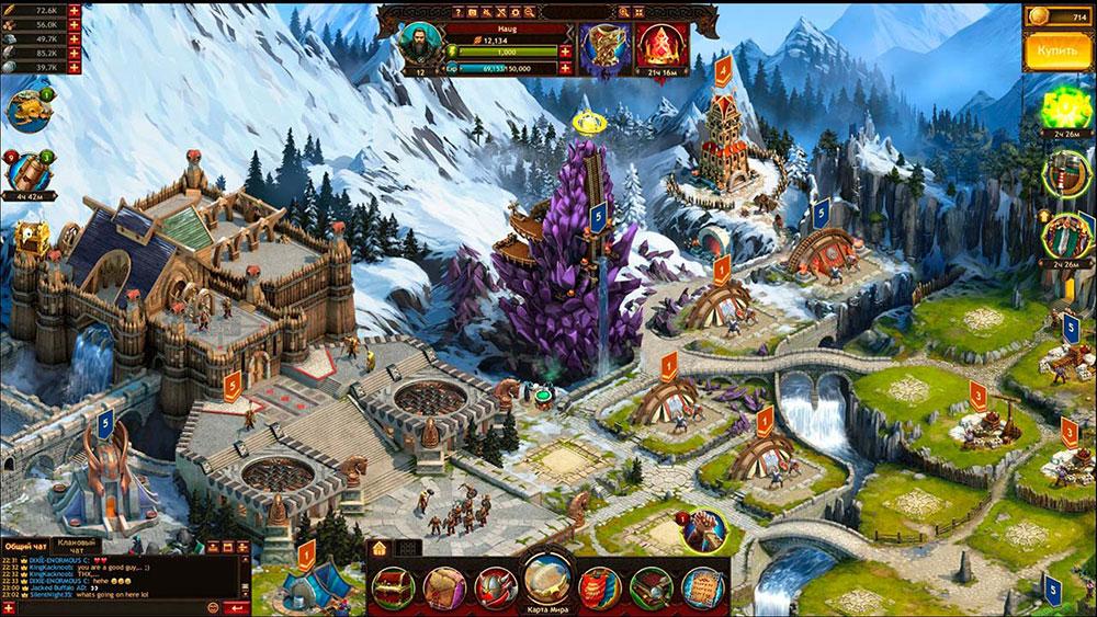 Промокоды в игре Vikings War of Clans